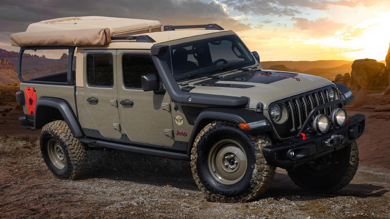 Jeep shows off its craziest concepts at the 2019 Moab Easter Jeep Safari.