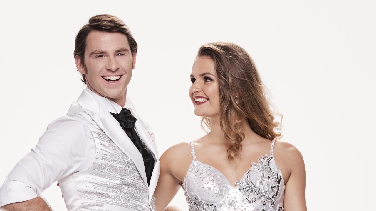 Jimmy Rees and dancing partner Alexandra Vladimirov.