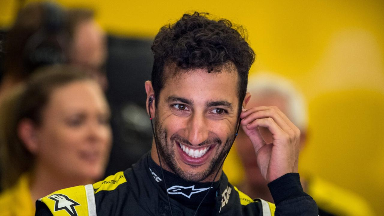 Ricciardo seems like a glass-half-full type of guy.