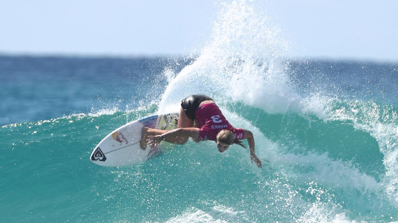 Marks carving up on the Gold Coast. Picture: Getty