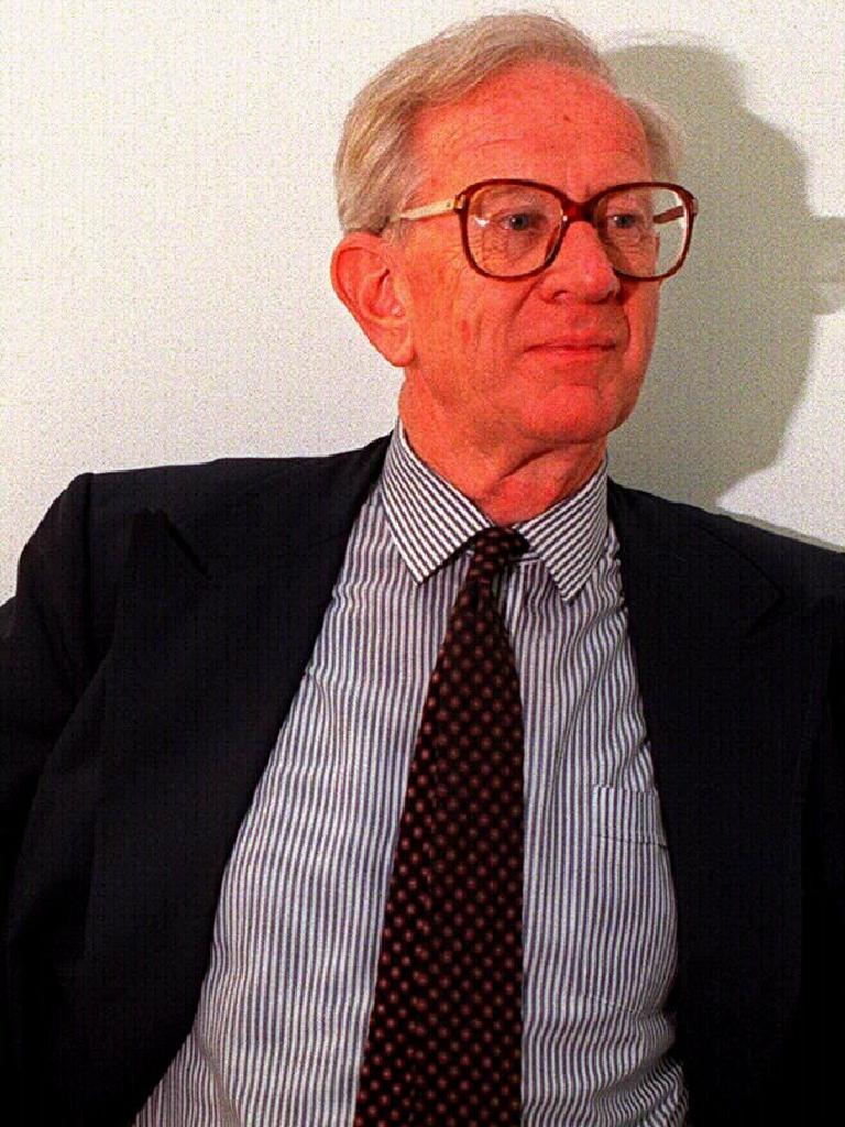 Political analyst Malcolm MacKerras. Picture: Supplied
