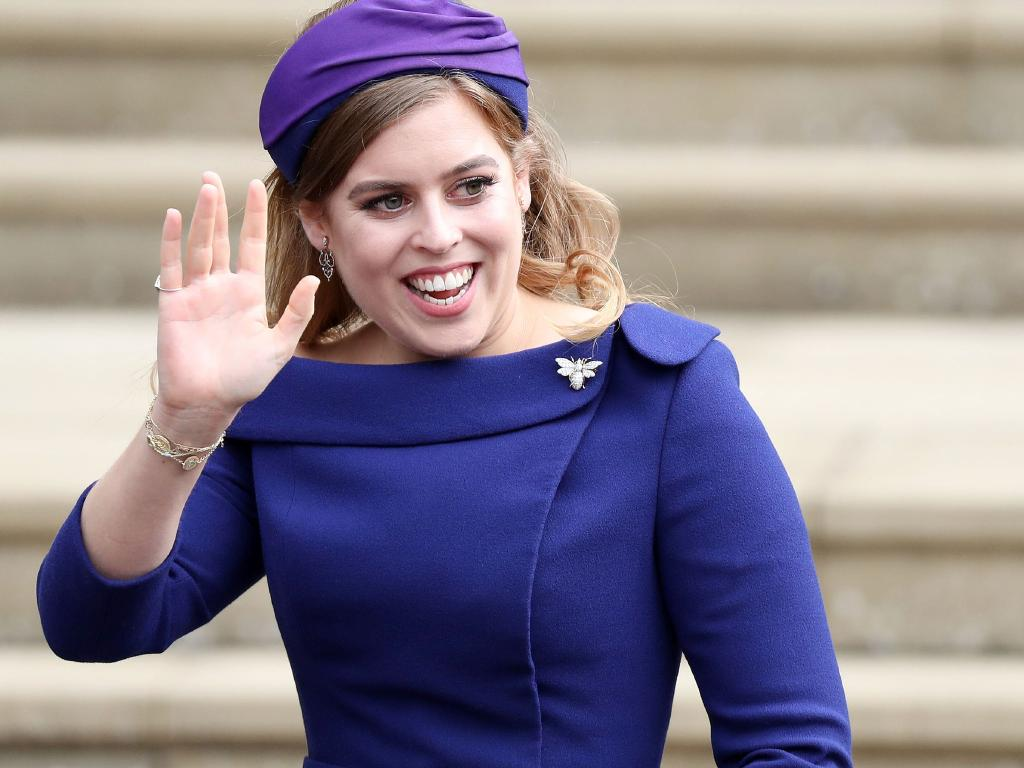 Britain's Princess Beatrice of York is living with her boyfriend sparking speculation she will soon wed. Picture: AFP