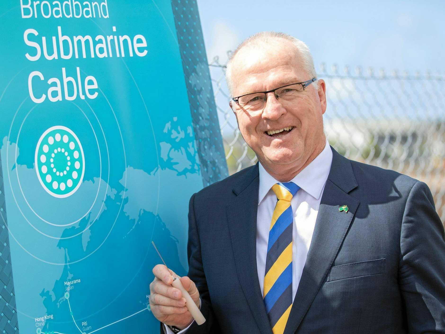 MILESTONE: The broadband submarine cable has marked a major milestone.