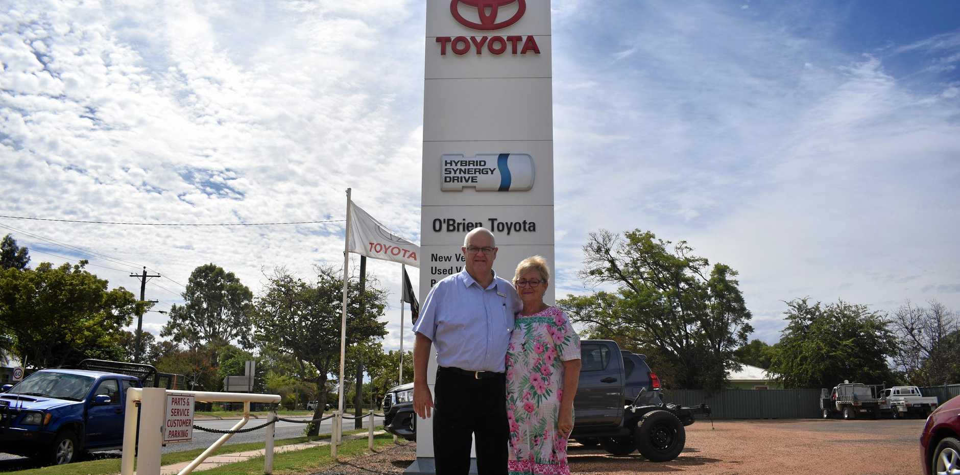 OUTBACK RIDE: Di and Neale O'Brien are proud to announce the acquisition of Thargo Motors.