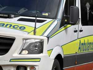 Man taken to hospital after early morning traffic crash