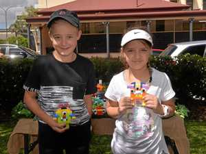 Imaginations run wild at monster lego event