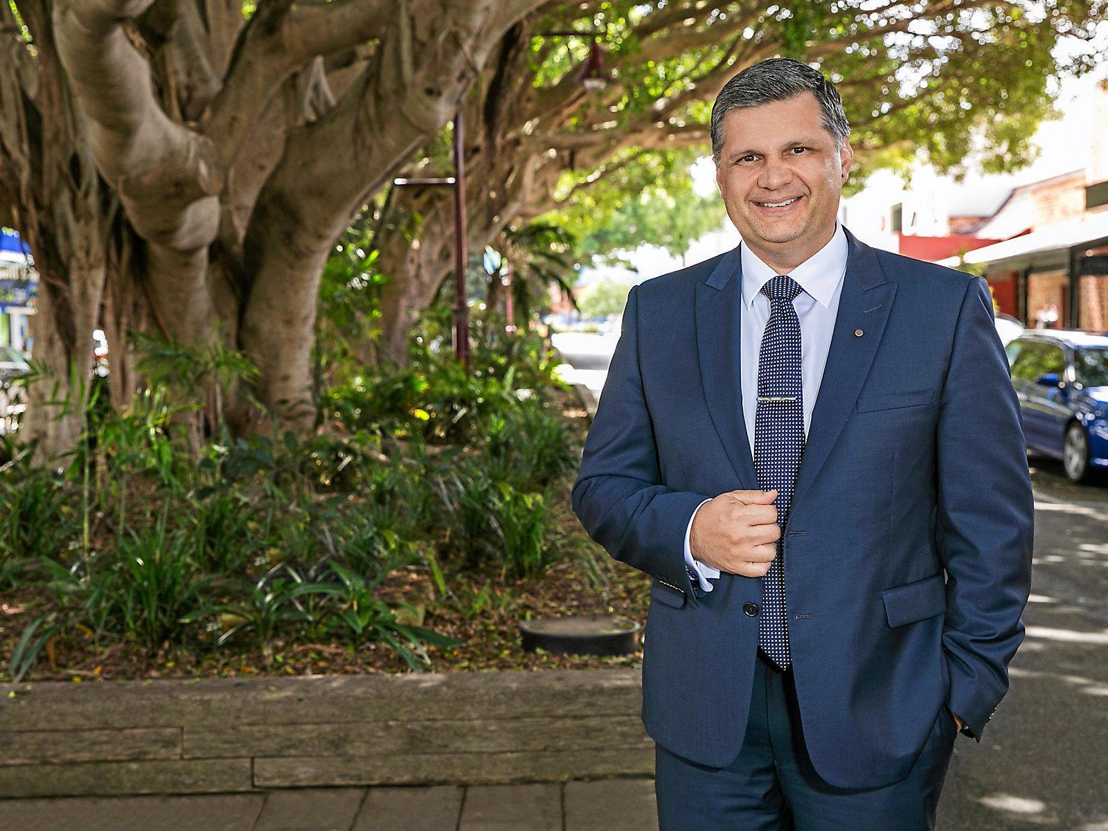Coffs Harbour Chamber of Commerce President Martin Wells.