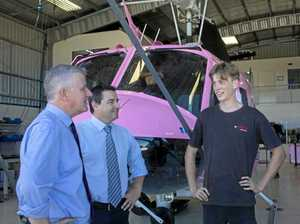 Small business and local roads central to Nats tour