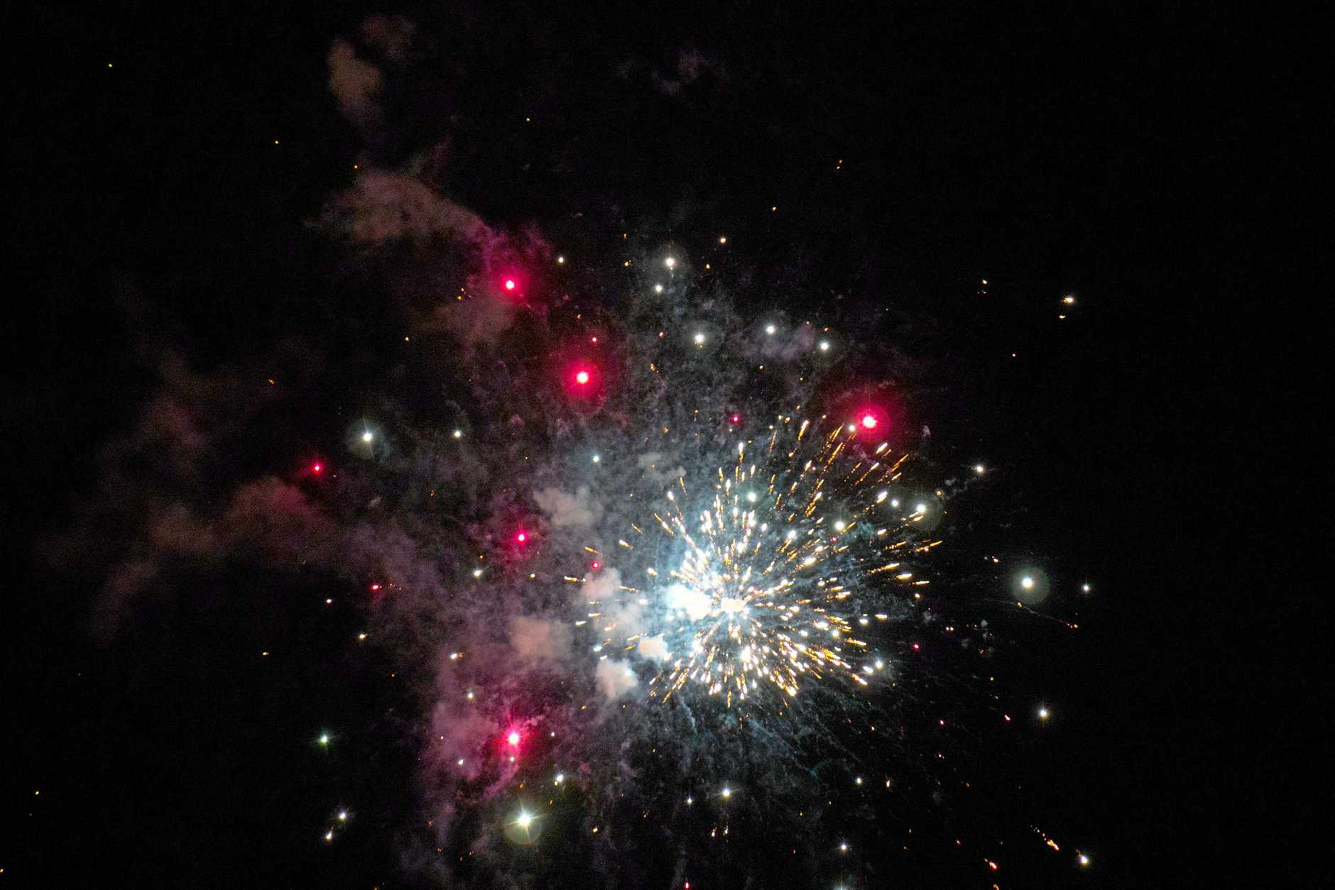 Generic New Years fireworks image.