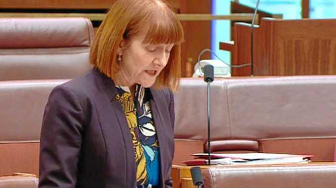 DEBATE: Greens Senator Rachel Siewert has voiced her concerns over the Cashless Debit Card.