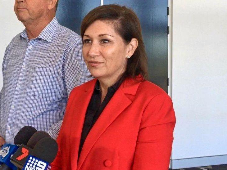 Environment Minister Leeanne Enoch