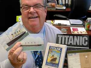Titanic donation to aid fundraising at Lifeline dinner