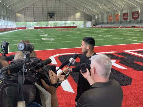 Valentine Holmes impressed more than a few with his NFL work out.