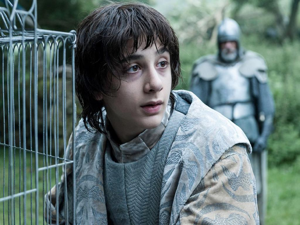 Robin Arryn, the weedy little son of Lyssa Arryn, would technically be in command of the Knights of the Vale after Littlefinger's death. Picture: Supplied