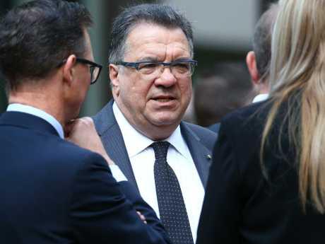 Former Labor Minister turned lobbyist Santo Santoro. Picture: Liam Kidston