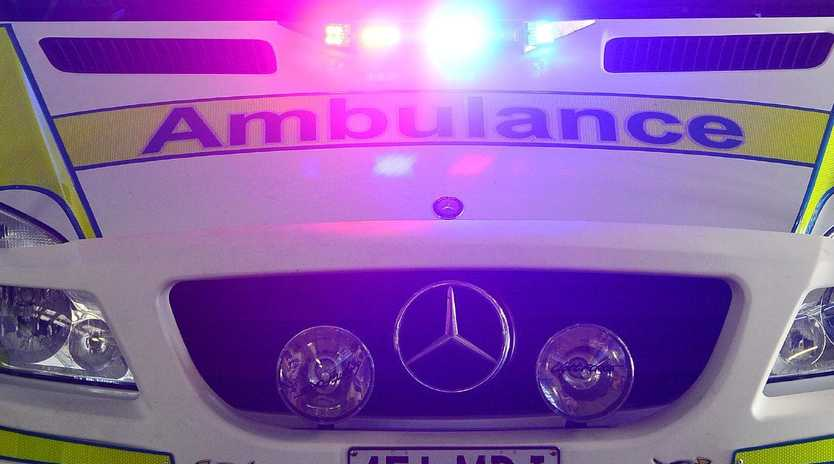Four people have been injured in a crash on the Tablelands.