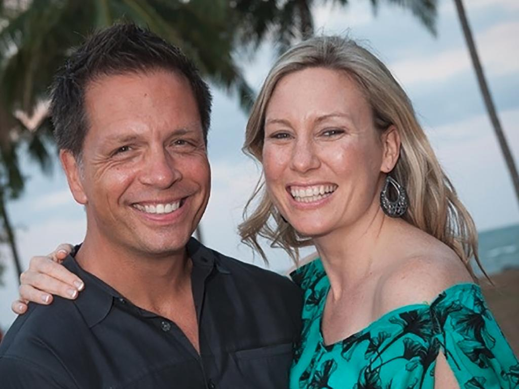 Justine Damond and her fiance, Don. Picture: Supplied