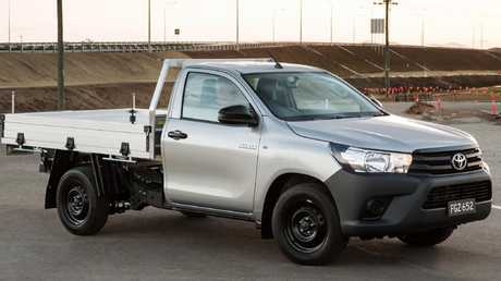 The Toyota HiLux ute is one of Australia's top-selling cars.