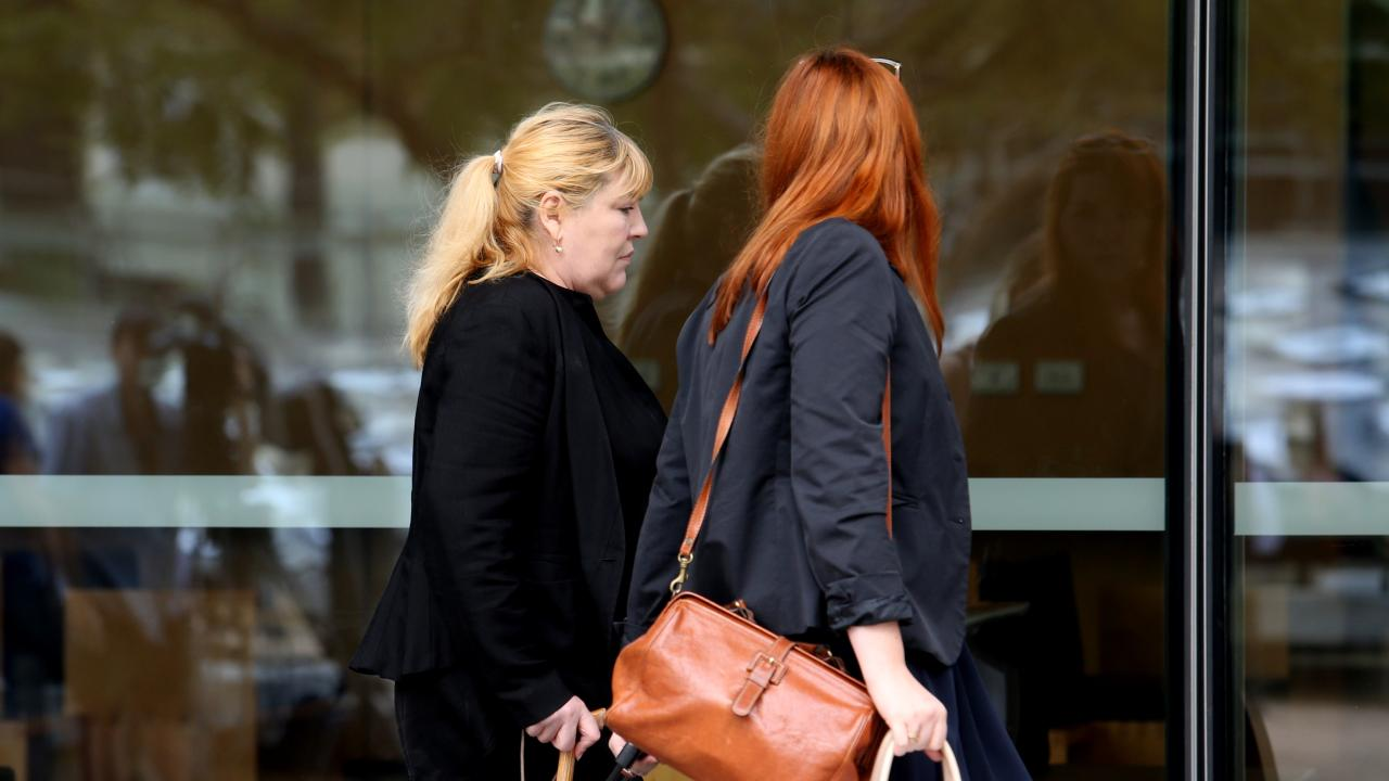 Olga Day, left, has been ordered to pay the legal costs of defendants which include Woolworths and a product demonstration company. Picture: Tara Croser