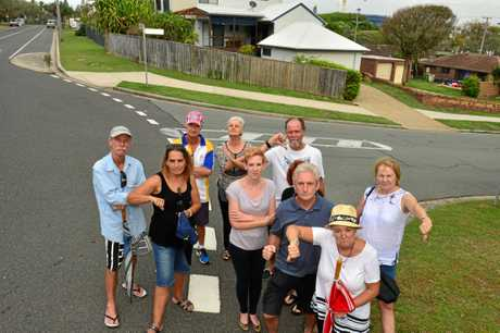 A small group of Buddina residents were disappointed about a proposed high-rise development.