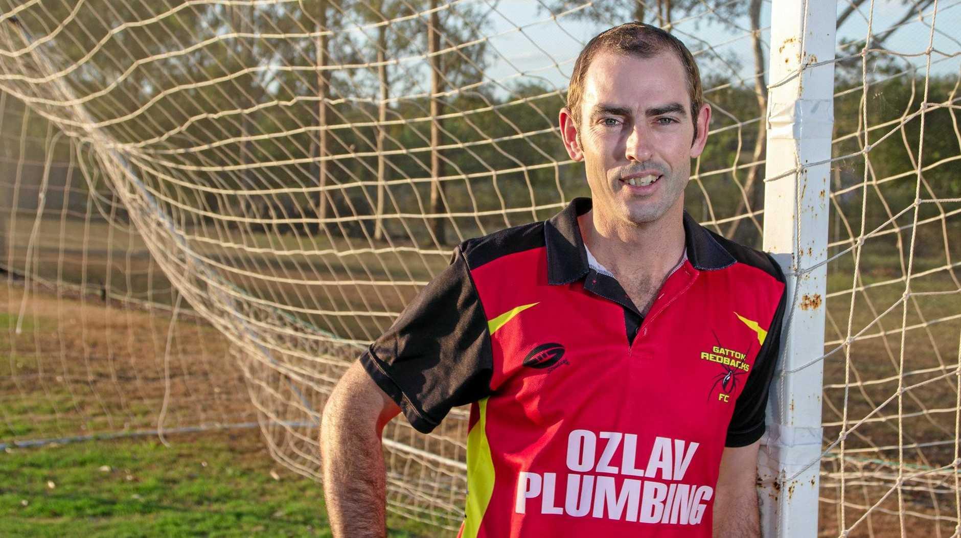 IN FOCUS: Gatton Soccer Club president Adam Halstead.