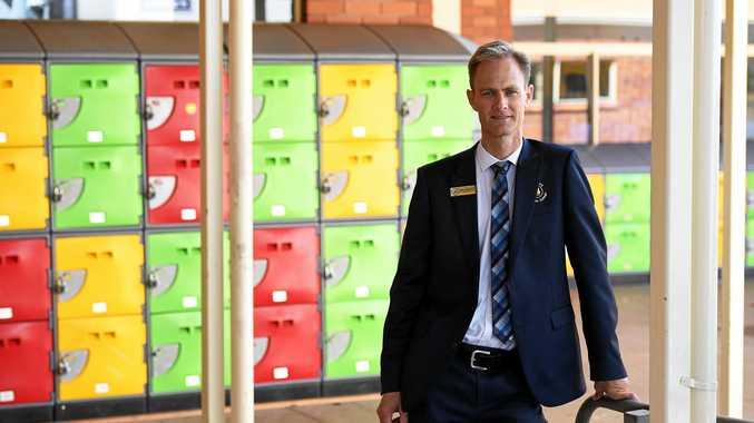 RISING UP: Bundaberg Christian College principal Paul Sterling.