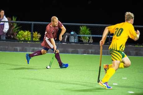 Hockey Men's - Cooloola Heat vs Maroochydore - John Daly Heat