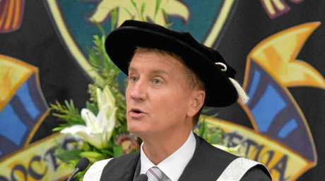 HARD ROAD: Professor Nick Klomp, CQUni vice-chancellor says change is needed.