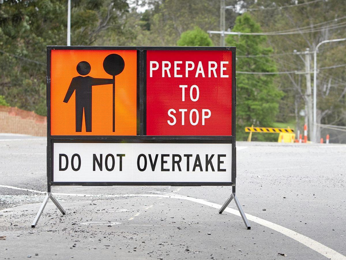Drivers need to pay attention - a minor crash can cause injuries.