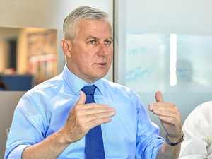 Deputy PM spruiks benefits of Adani