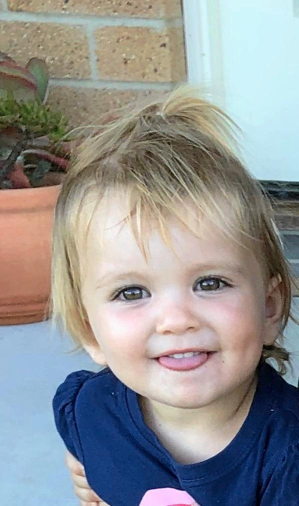 NSW Police hold extreme concerns for the welfare of 22-month-old Aria Jane Killiby.