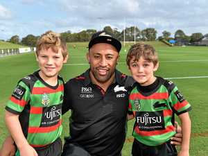 Rabbitohs spark footy fever ahead of inaugural game