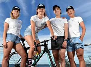 New women's cycling team ready to roll in major event