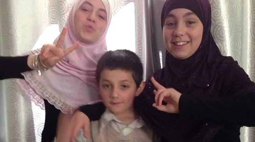 Khaled Sharrouf's children Zaynab, Abdullah and Hoda.