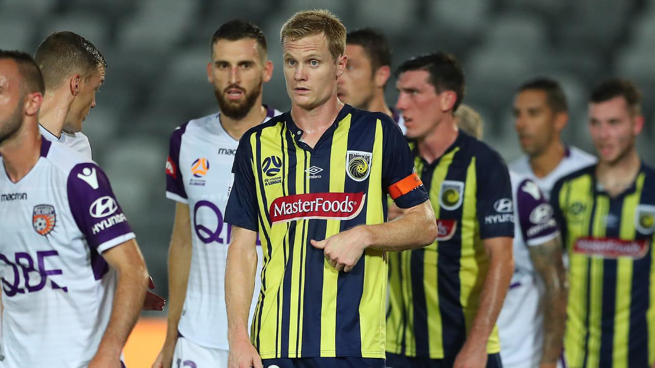 The A-League Club Participation Agreement allows for relegation and the Central Coast Mariners could be in the frame if they come last next season. Picture: Getty Images