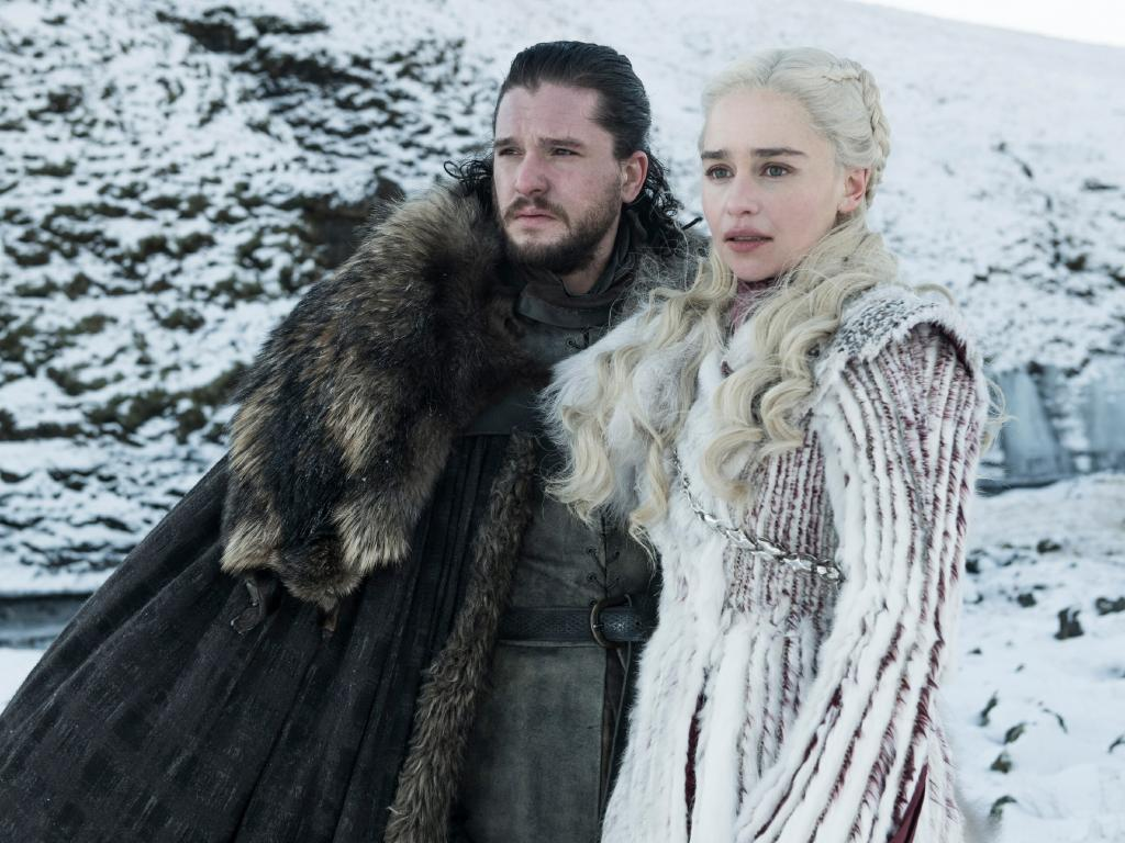 Jon Snow and Daenerys Targaryen are among those who fans expect will remain among the living. Picture: Helen Sloan/HBO