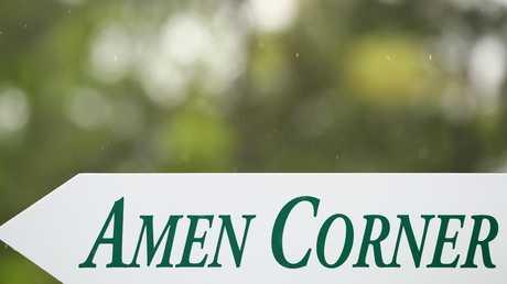 The iconic Amen Corner. Picture: Getty