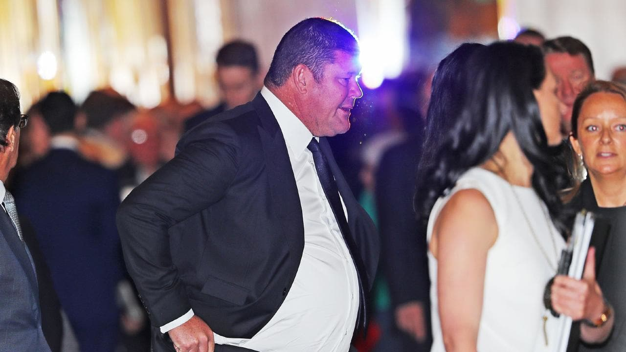 James Packer has said he is 'tired of being on this ­rollercoaster'.