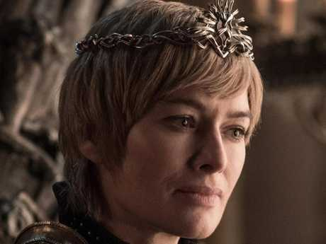 Game of Thrones star Lena Headey as Cersei Lannister. Picture: Helen Sloan/HBO