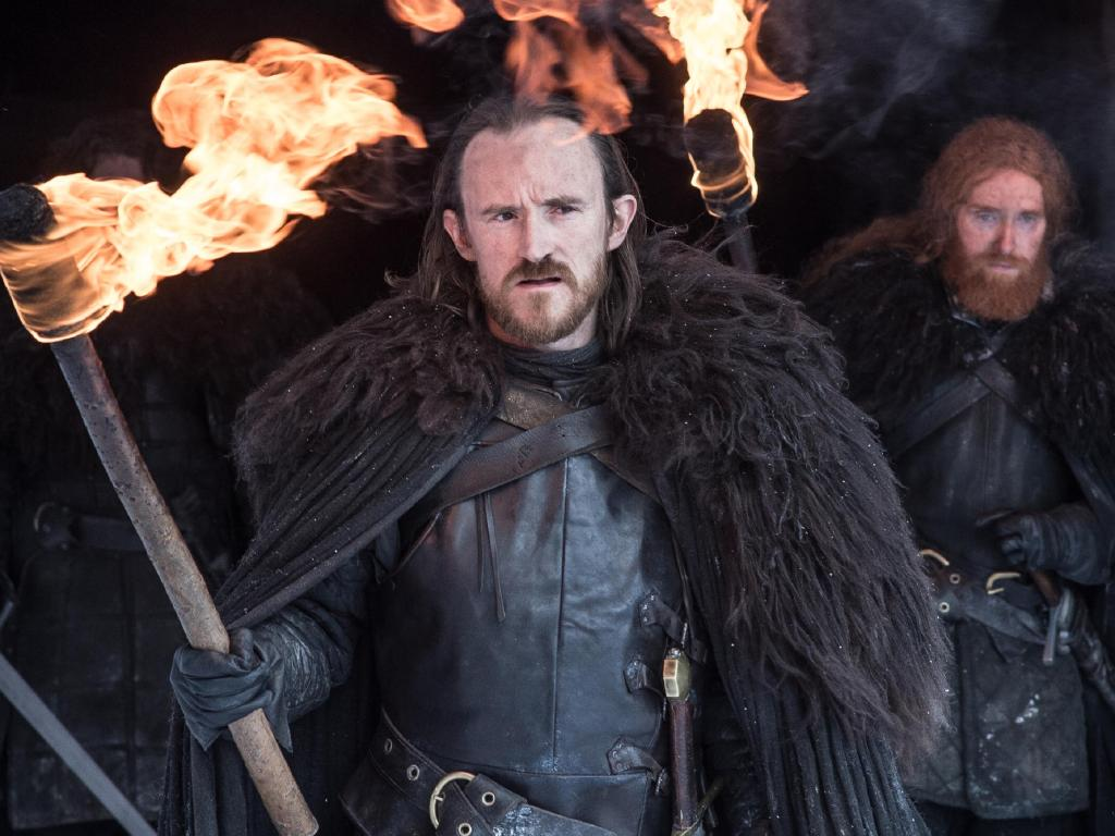 Things aren't looking good for the commander of the Night's Watch, Eddison Tollett, who fans expect will be killed off in the first episode of the final season. Picture: HBO