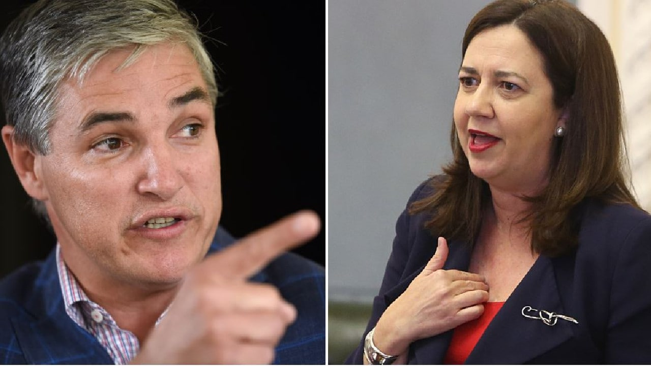 Annastacia Palaszczuk Palaszczuk's lawyers are demanding an apology from Robbie Katter over comments he made last week.
