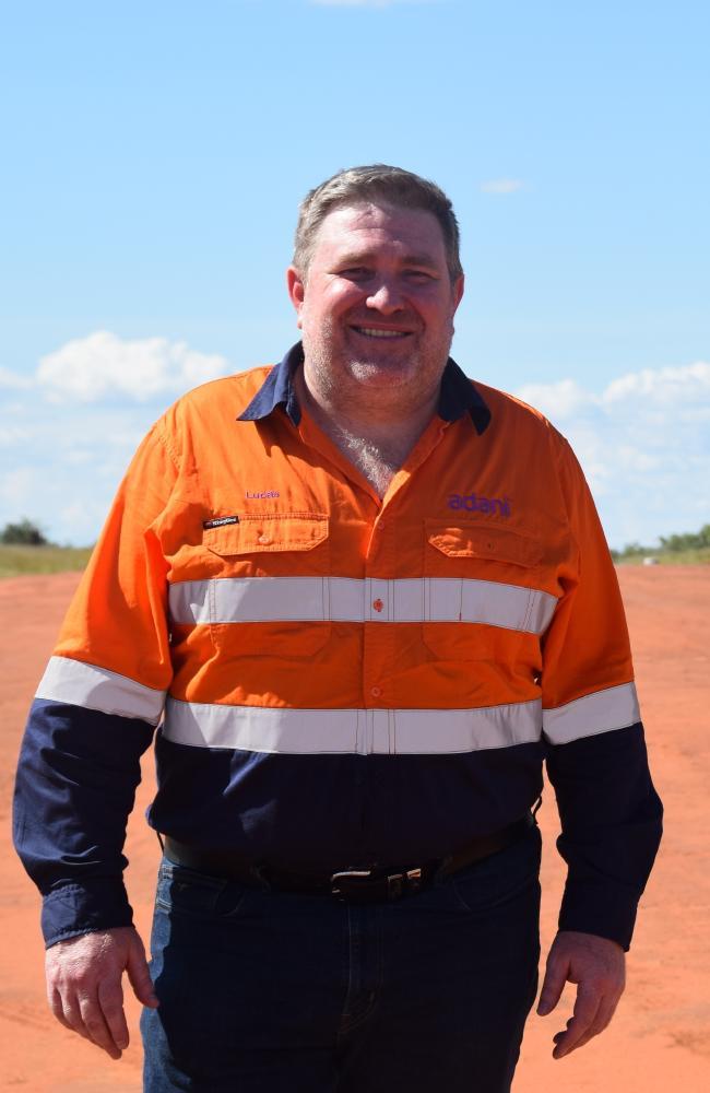 Adani Australia chief executive Lucas Dow.