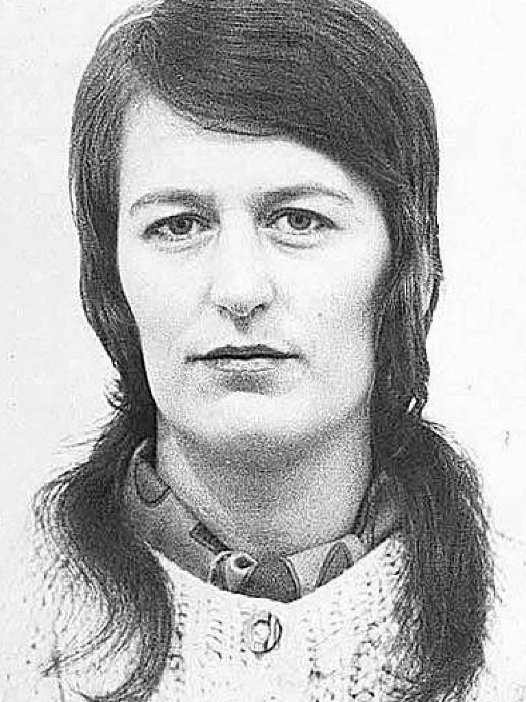 Mass murderer Myra Hindley in 1977.