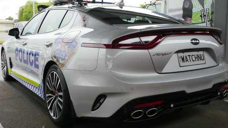 NT Police has ordered the Kia Stinger sedan