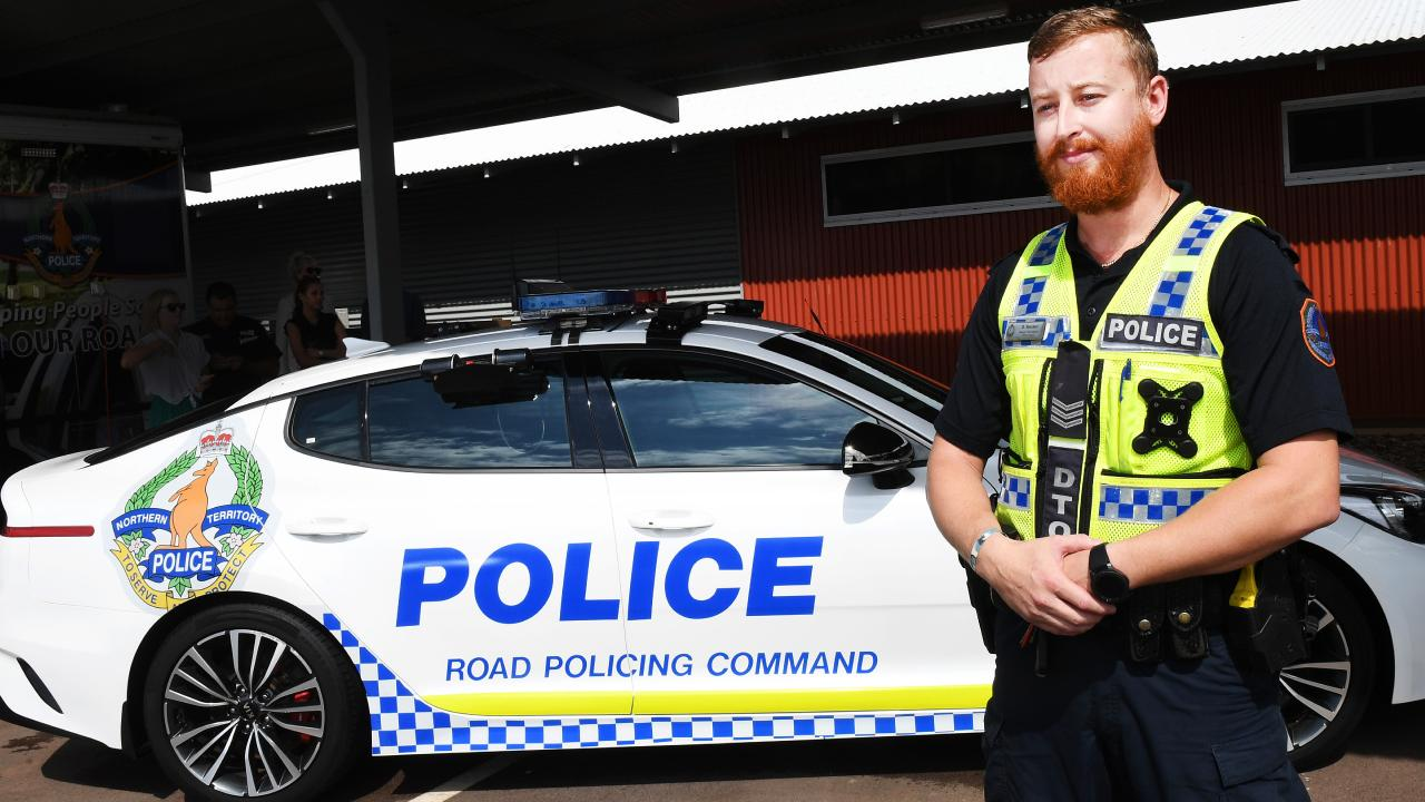 The NT Police's road unit will be getting a new fleet of patrol cars. Picture: Katrina Bridgeford.