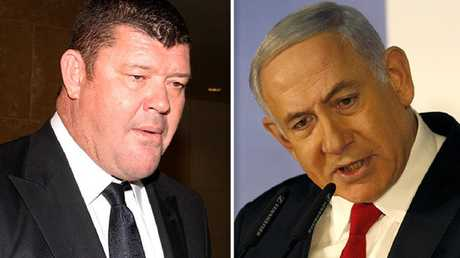 Packer allegedly provided gifts including champagne and cigars to the Israeli PM.