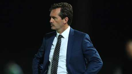 Coach Mike Mulvey was sacked after the Mariners were thumped 8-2 by the Wellington Phoenix last month. Picture: Getty Images