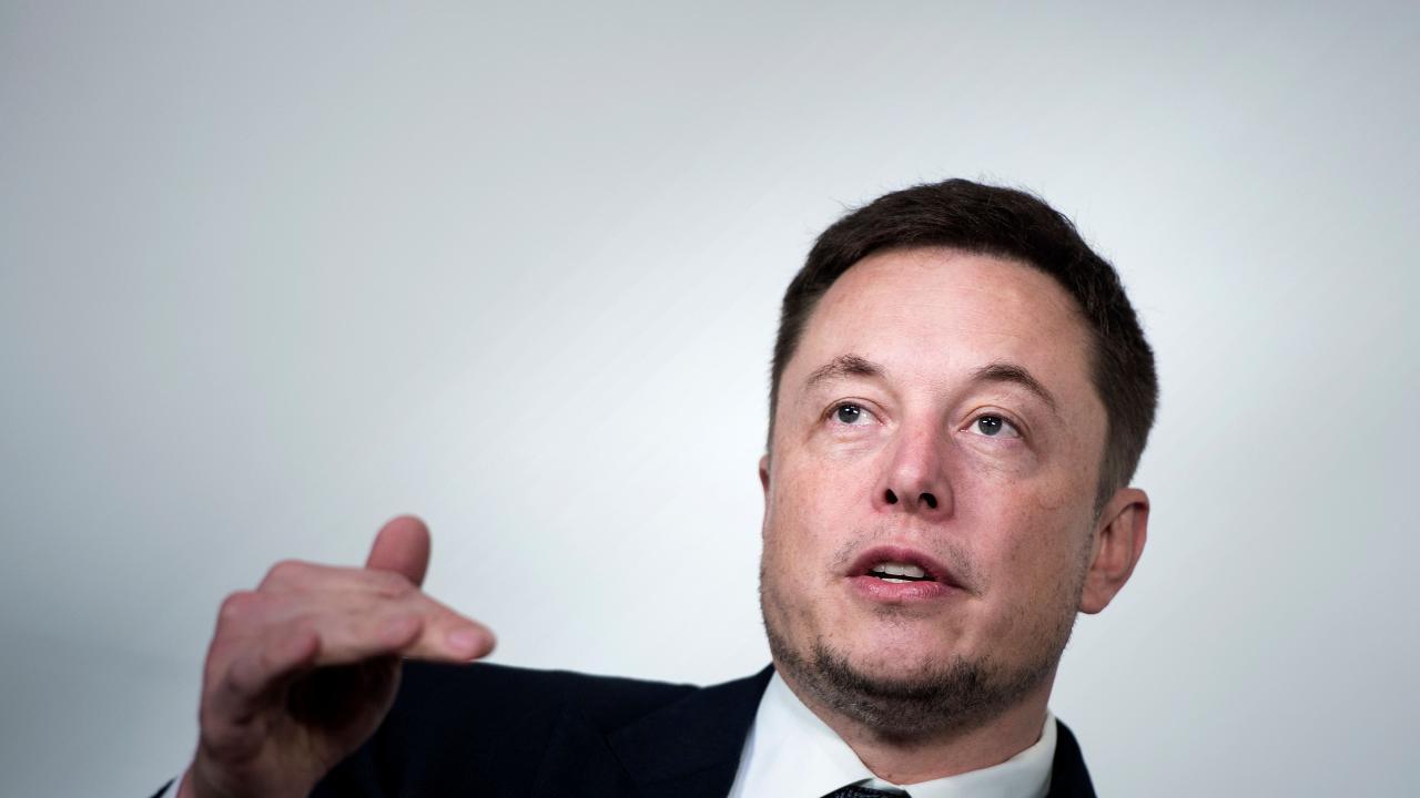 Tesla boss Elon Musk has weighed into Australia's EV debate. Picture: AFP.