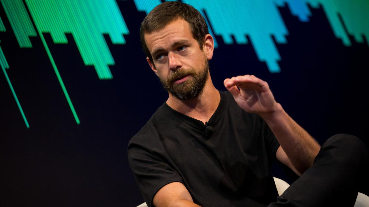 Jack Dorsey, co-founder and chief executive officer of Twitter and Square. Picture: Michael Nagle