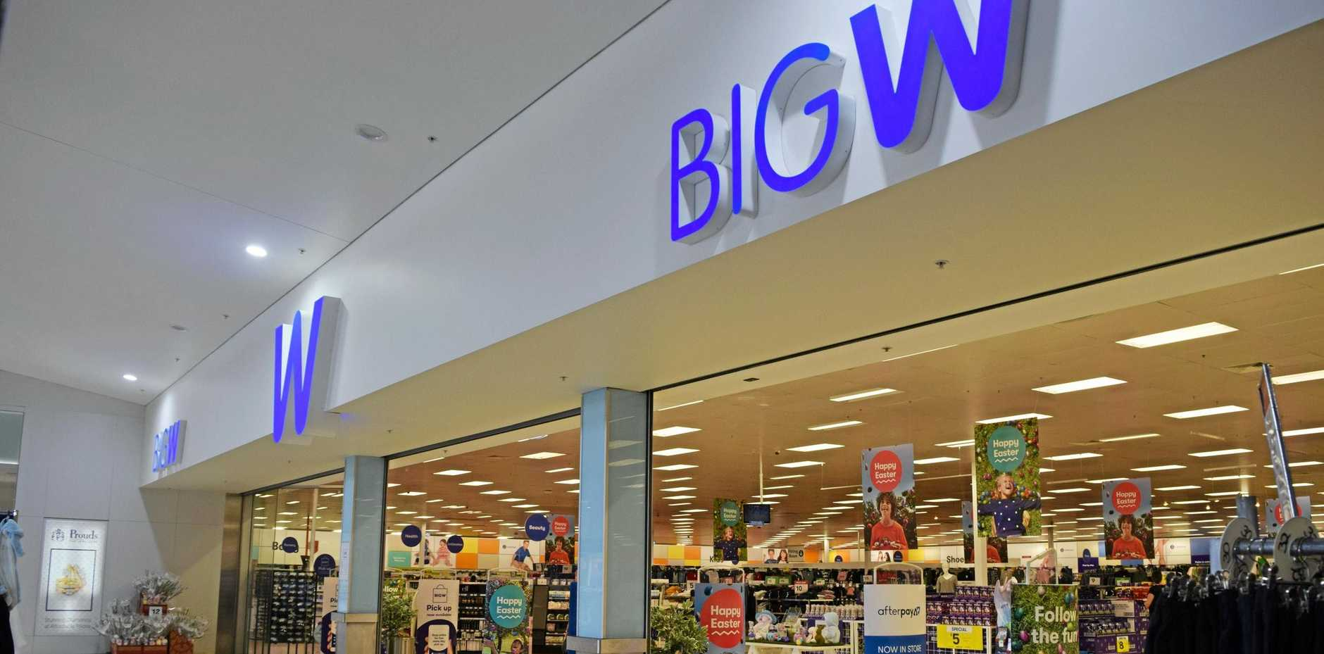 SHOP LOCAL: Big W Emerald supports a large region, with customers travelling from as far as Alpha.